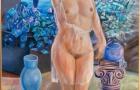 """Oppressione"" Olio su tela 140 x 100 - 2013"