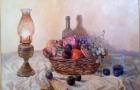 """Natura morta1"" olio su tela 70x60 2012"