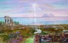 """""""Cristo è risorto"""" olio su tela 100 x 50 - 2009"""